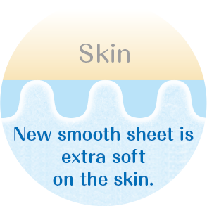 New smooth sheet is extra soft on the skin.