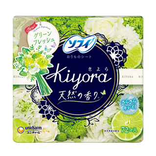 Sofy Kiyora Fragrance Fresh Refreshing green fragrance