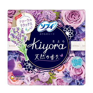 Sofy Kiyora Fragrance Natural Relax Floral musk fragrance