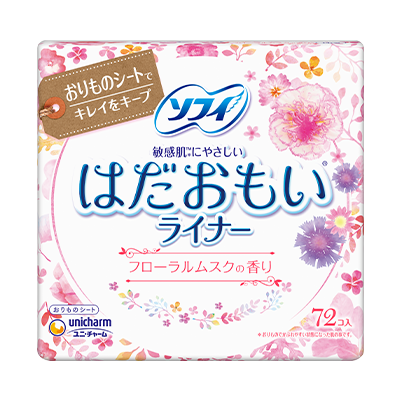 Sofy Hadaomoi<sup>(R)</sup> Pantyliners Floral Musk Fragrance