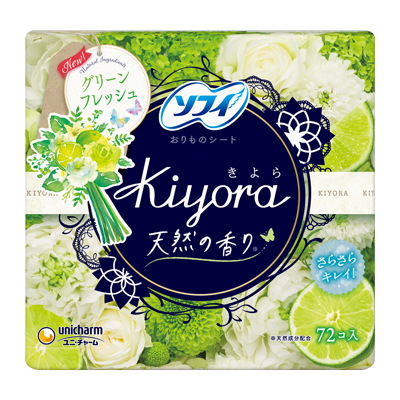 Sofy Kiyora Fragrance<sup>(R)</sup> Fresh Refreshing green
