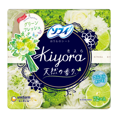 Sofy Kiyora Fragrance<sup>(R)</sup> Green fresh