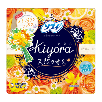 Sofy Kiyora Fragrance<sup>(R)</sup> Floral and citrus