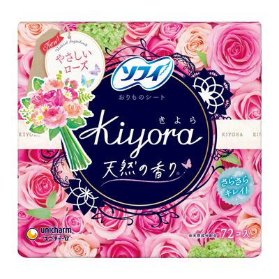 Sofy Kiyora Fragrance<sup>(R)</sup> Gentle rose