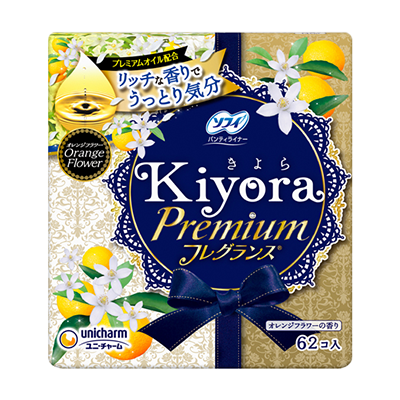 Sofy Kiyora Premium Fragrance<sup>(R)</sup> orange