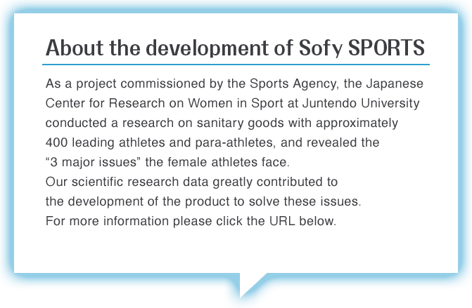 About the development of Sofy SPORTS